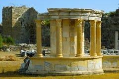 Ruinas de la ciudad antigua de la cara 4 Imagen de archivo