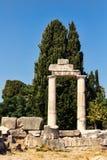 Ruinas de la ciudad antigua de Kos Fotos de archivo libres de regalías