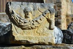 Ruinas de la ciudad antigua del lado Imagen de archivo
