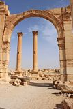 Ruinas de la ciudad antigua del Palmyra Fotos de archivo