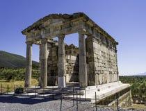 Ruinas de la ciudad del griego clásico de Messinia, Peloponeso, Grecia fotografía de archivo libre de regalías
