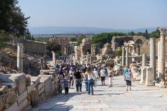 Ruinas de la ciudad griega Ephesus Imagenes de archivo