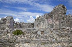 Ruinas de la ciudad de Tulum Fotos de archivo libres de regalías