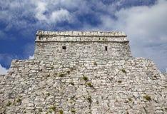 Ruinas de la ciudad de Tulum Imagen de archivo libre de regalías