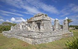 Ruinas de la ciudad de Tulum Fotos de archivo