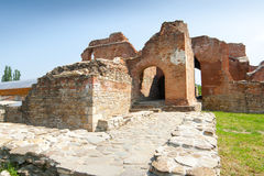 Ruinas de la ciudad vieja Imágenes de archivo libres de regalías