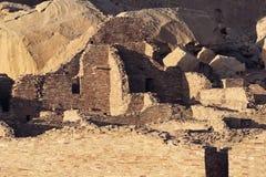 Ruinas de la cultura de Chaco Fotos de archivo libres de regalías