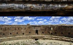 Ruinas de la cultura de Chaco Imágenes de archivo libres de regalías