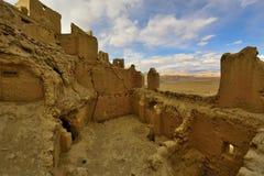 Ruinas de la dinastía del guge de Tíbet Imágenes de archivo libres de regalías