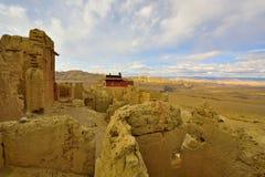 Ruinas de la dinastía del guge de Tíbet Imagen de archivo libre de regalías