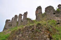 Ruinas de la fortaleza Fotografía de archivo libre de regalías