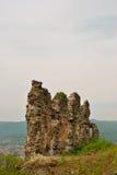 Ruinas de la fortaleza Imagen de archivo libre de regalías