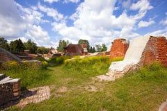 Ruinas de la fortaleza Foto de archivo libre de regalías