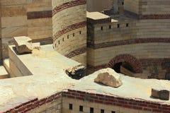 Ruinas de la fortaleza antigua foto de archivo libre de regalías