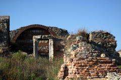 Ruinas de la fortaleza de Histria fotos de archivo