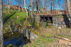 Ruinas de la fragua de la hojalata Imagen de archivo libre de regalías