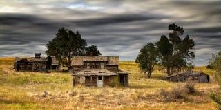 Ruinas de la granja Foto de archivo