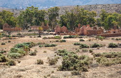 Ruinas de la granja de Kanyaka del abandono. Sur de Australia Fotos de archivo libres de regalías