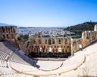 Ruinas de la Grecia Foto de archivo libre de regalías