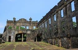 Ruinas de la guerra - interior fotografía de archivo libre de regalías