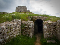 Ruinas de la iglesia Fotografía de archivo