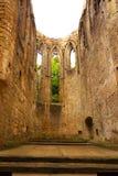 Ruinas de la iglesia anterior Foto de archivo