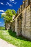Ruinas de la iglesia antigua en Toscana Fotografía de archivo