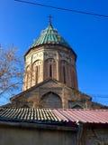 Ruinas de la iglesia apostólica armenia en Tbilisi vieja, Georgia Foto de archivo