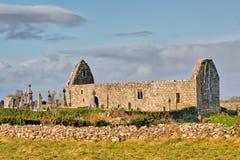 Ruinas de la iglesia de Killursa Imagenes de archivo