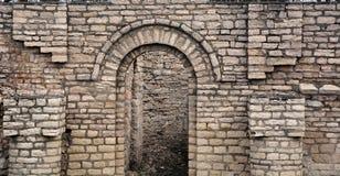 Ruinas de la iglesia de la natividad Fotografía de archivo libre de regalías