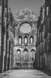 Ruinas de la iglesia de San Galgano en Siena (Toscana - Italia) Fotografía de archivo