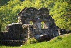 Ruinas de la iglesia de San Miguel Fotografía de archivo libre de regalías