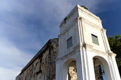 Ruinas de la iglesia de San Pablo Fotografía de archivo
