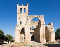 Ruinas de la iglesia de Santa Eulalia Fotos de archivo