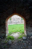 Ruinas de la iglesia desde adentro Imágenes de archivo libres de regalías