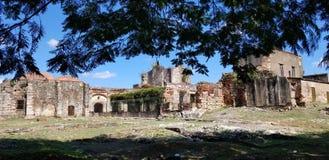 Ruinas de la iglesia y del monasterio de San Francisco foto de archivo