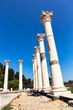 Ruinas de la isla de Asklepieion Kos Foto de archivo libre de regalías