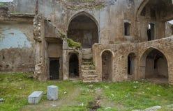 Ruinas de la mansión vieja imagenes de archivo