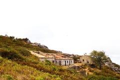 Ruinas de la montaña Imagen de archivo libre de regalías