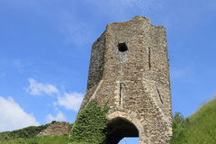 Ruinas de la puerta del castillo en Dover Fotos de archivo libres de regalías