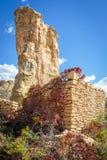 Ruinas de la reserva Imagen de archivo libre de regalías