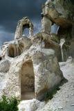 Ruinas de la torre de alarma Foto de archivo libre de regalías