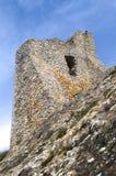 Ruinas de la torre del castillo Fotos de archivo