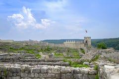 Ruinas de la torre vieja 3 de la fortaleza y del puesto de observación imagen de archivo libre de regalías
