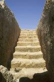 Ruinas de la tumba en Chipre 2 Foto de archivo libre de regalías