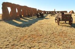 Ruinas de la unión de la fortaleza Fotografía de archivo libre de regalías