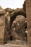 Ruinas de los baños de Caracalla - Terme di Caracalla Imagen de archivo