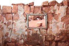 Ruinas de los habitantes del acantilado en Arizona norteño Imagen de archivo libre de regalías