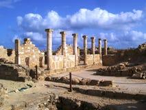 ruinas de los paphos Imagenes de archivo