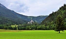 Ruinas de Losenheim en Austria, horizontal Imagen de archivo